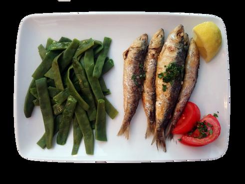 Sardines pois gourmands
