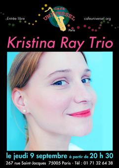 Affiche Kristina Ray trio 9 septembre 2021.png