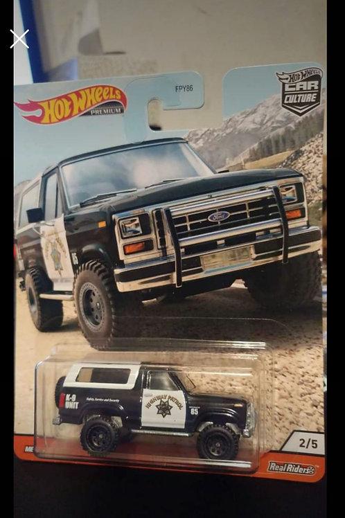 Hot Wheels Car Culture Ford Bronco