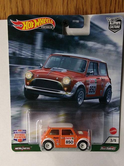 Hot Wheels British Power Series #3 Morris Mini