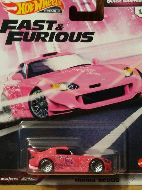 Hot Wheels Fast and Furious Series Honda S2000