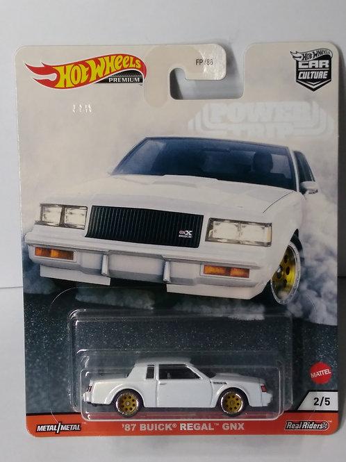 Hot Wheels Power Trip Series '87 Buick Regal GNX