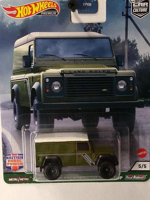 Hot Wheels British Power Series #5 Land Rover Defender 110 Hard Top
