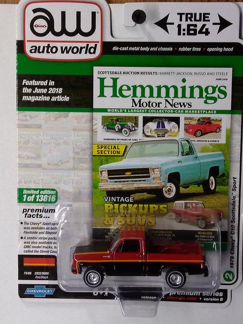 Auto World Hemmings Motor News 1979 Chevy C10 Scottsdale Sport