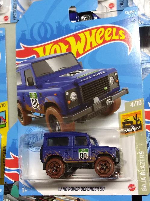 Hot Wheels Land Rover Defender 90