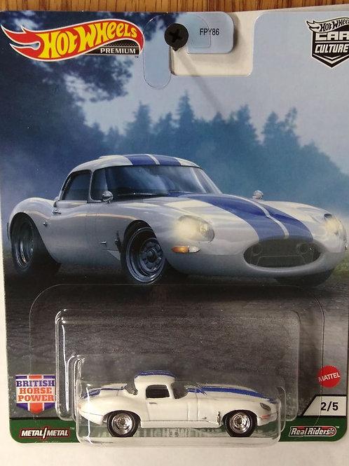 Hot Wheels British Power Series #2  Jaguar Lightweight E-Type
