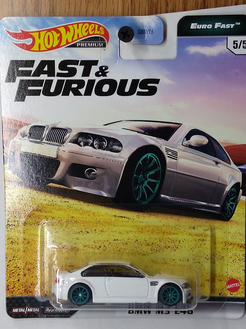 Hot Wheels Fast and Furious Series BMW M3 E46