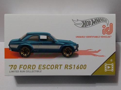 Hot Wheels ID '70 Ford Escort RS1600