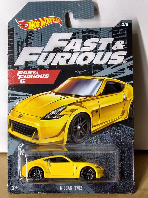 Hot Wheels  Fast and Furious 6 Series Nissan 370Z