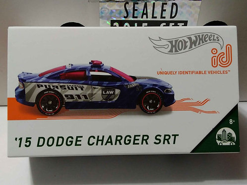 Hot Wheels ID '15 Dodge Charger SRT