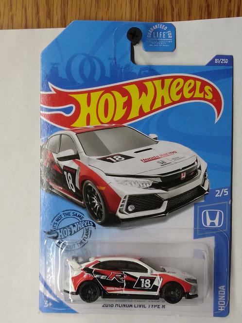 Hot Wheels  Honda Series 2018 Honda Civic Type R