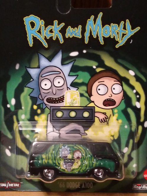 Hot Wheels Rick and Morty Series #1  '66 Dodge A100