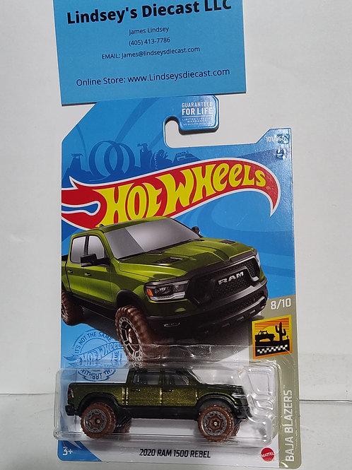 Hot Wheels    2020 Dodge 1500 Rebel