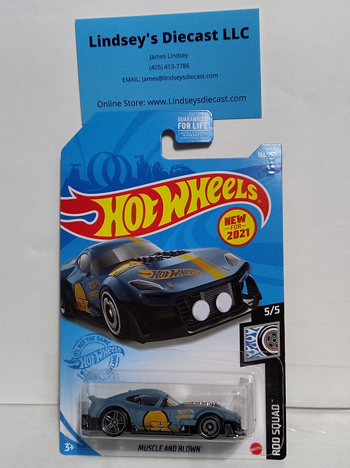 Hot Wheels   Muscle and Blown