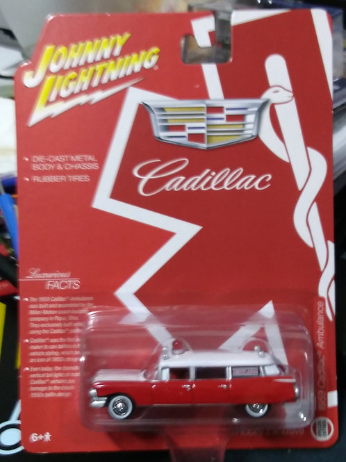 Johnny Lightning Hobby Exclusive 1959 Cadillac Ambulance