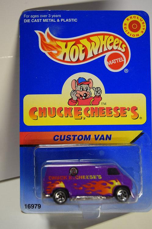 Hot Wheels Chuck E Cheese Van