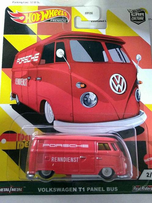 Hot Wheels DeutschLand Design Volkswagen T1 Panel Bus