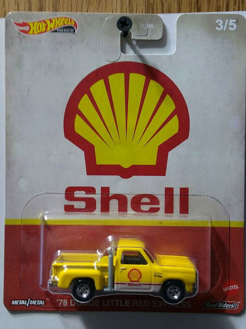 Hot Wheels SHELL '78 Dodge Lil Red Express