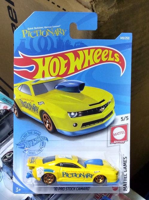 Hot Wheels  Mattel Games Series Pictionary '10 Pro Stock Camaro
