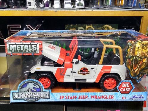 JADA Jurassic World JP Staff Jeep Wrangler p  1:24 Scale