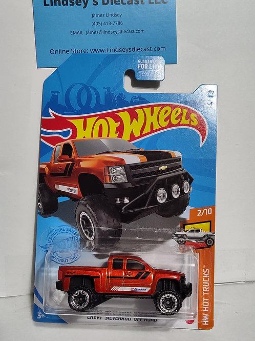 Hot Wheels   Chevy Silverado Off-Road