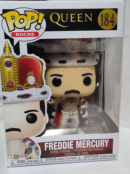 Funko Pop Rocks  #184  QUEEN  Freddie Mercury