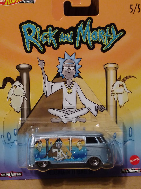 Hot Wheels Rick and Morty Series #5 VW T1 Panel Bus