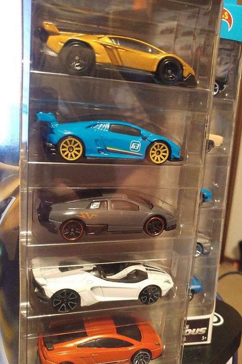 Hot Wheels Lamborghini 5 Pack