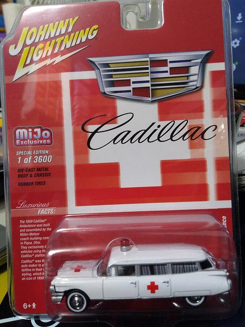 Johnny Lightning MiJo Exclusive 1959 Cadillac Ambulance