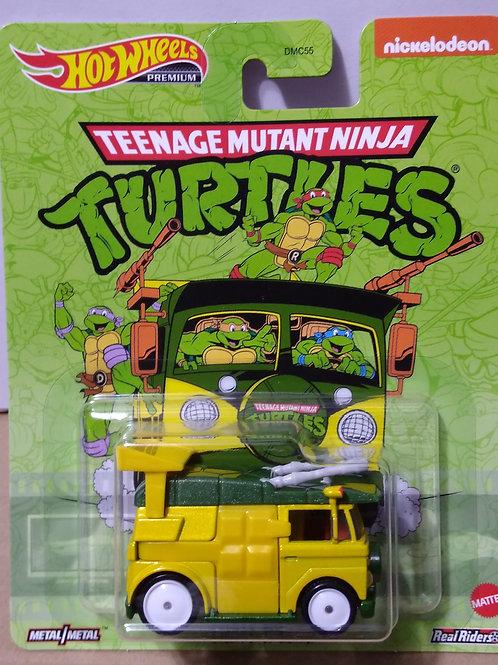 Hot Wheels  Power Trip Series Tennage Mutant Ninja Turtles Party Van