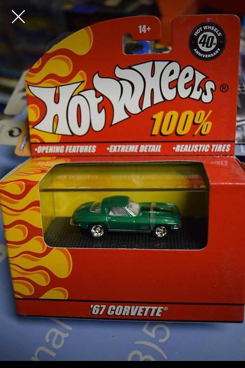 Hot Wheels 100% Corvette