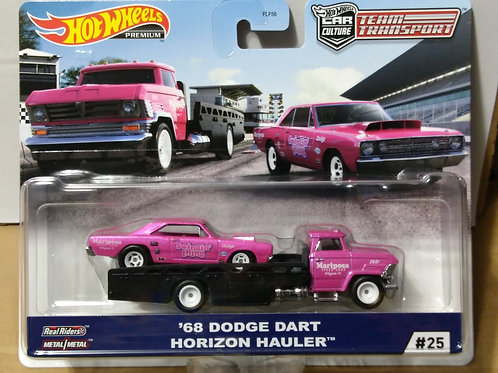 Hot Wheels Team Transport '68 Dodge Dart & Horizon Hauler