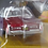 Thumbnail: Auto World Lowrider Series 1976 Cadillac Coupe Deville Candy Red Chrome Rims