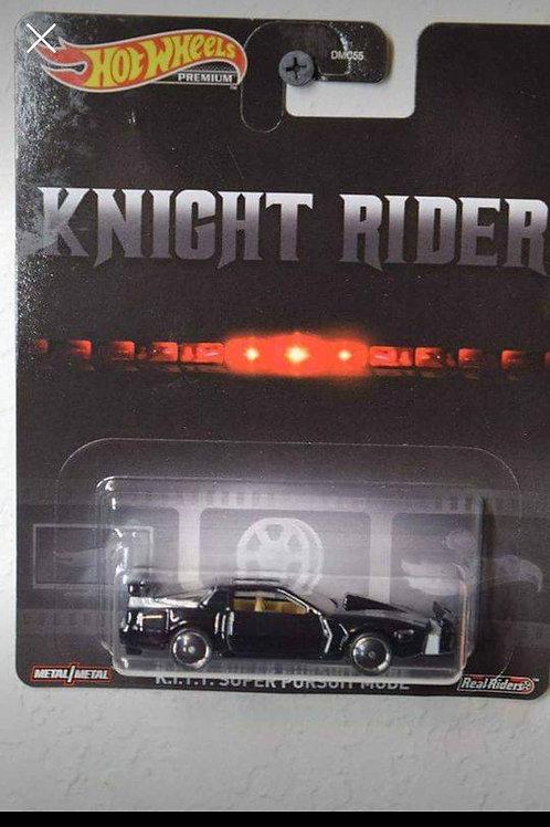 Hot Wheels Knight Rider KITT Super Pursuit Mode