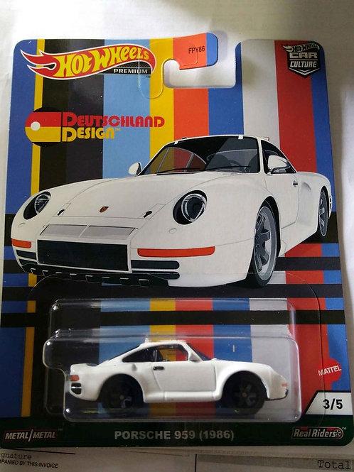 Hot Wheels DeutschLand Design Porsche 959