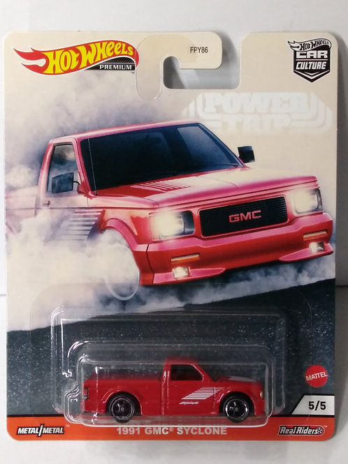 Hot Wheels  Power Trip Series  '91 GMC Syclone