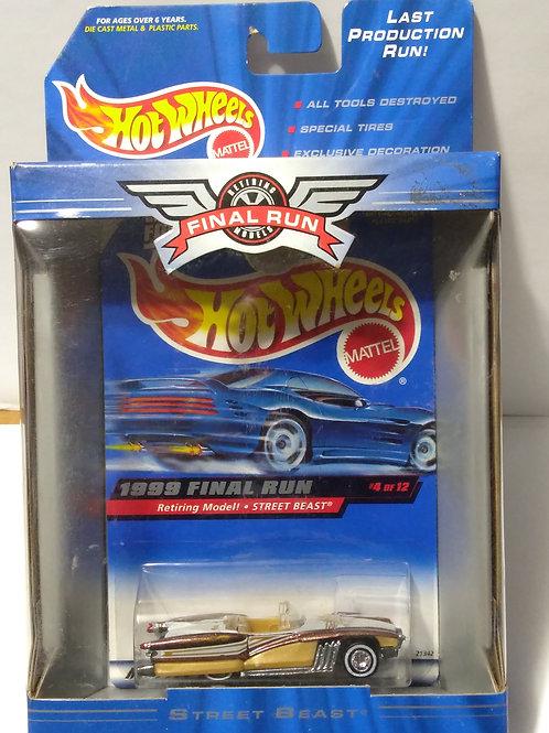 Hot Wheels  1999 Final Run Series #4 of 12 Street Beast