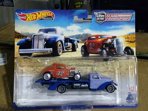 Hot Wheels Team Transport '32 Ford and Speed Waze  1: