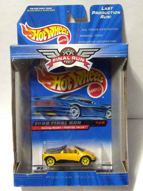 Hot Wheels  1999 Final Run Series #7 of 12  Pontiac Salsa