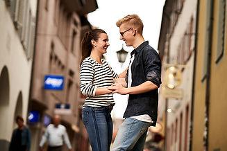 Jugendliches Tanzpaar