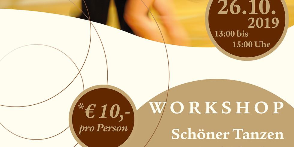 WORKSHOP - Schöner Tanzen Latin/Rhythm