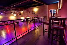 Balkon Ansicht im Ballroom - Das Tanzhaus im Münsterland