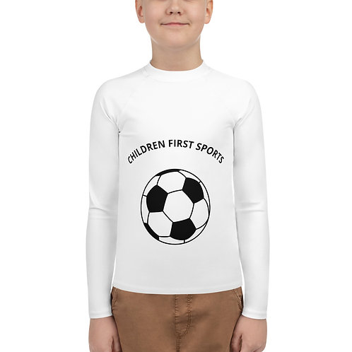 Youth Rash Guard- Soccer long sleeve