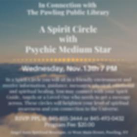 A Spirit Circle with Psychic Medium Star