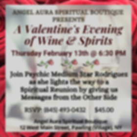 Join Psychic Medium Star for a Valentine