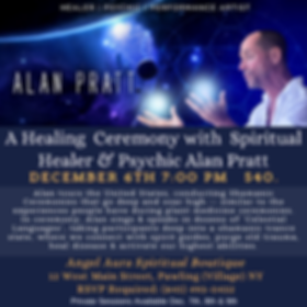 A Healing Ceremony with Alan Pratt 12-6.