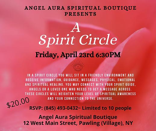 In a Spirit Circle you will sit in a fri