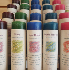 Reiki Energy Charged Candles
