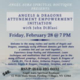 ANGELS & DRAGONS ATTUNEMENT EMPOWERMENT