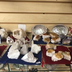 Crystals! Geodes! Shells!